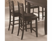 Coaster Page Contemporary Counter Height Stool  CO-102729 (Set of 2)