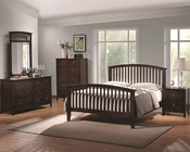 Coaster Panel Bedroom Set Tia CO202081QSet