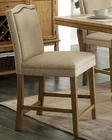 Coaster Parkins Bar Stool w/ Nailhead Trim CO-103719 (Set of 2)
