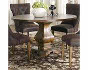 Coaster Parkins Dining Table w/ Shaped Pedestal Base CO-103710