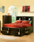 Coaster Phoenix Bed with Bookcase Headboard CO-200409