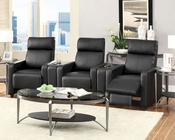 Coaster Recliners Theater Seating Push-Back Recliner Set CO-600181Set