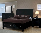 Coaster Sandy Beach Bedroom Set Black CO-201329Set