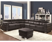 Coaster Sectional Sofa w/ AdjusTable Headrests Ralston CO-503625