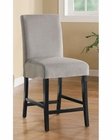 Coaster Stanton 24 Inch Gray Bar Stool CO-102069GRY (Set of 2)