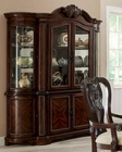 Coaster Traditional Buffet/ Hutch China Cabinet Alexander CO-104144