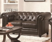 Coaster Traditional Button-Tufted Love Seat Roy CO-504552
