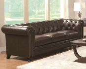 Coaster Traditional Button-Tufted Sofa Roy CO-504551