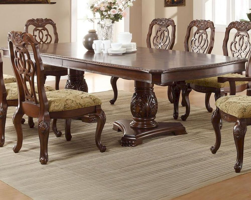 Coaster Traditional Dining Table Marisol CO 103441 . Traditional Dining  Room Tables. Modern Home Design