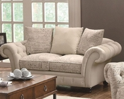 Coaster Traditional French Style Love Seat Willow CO-503762