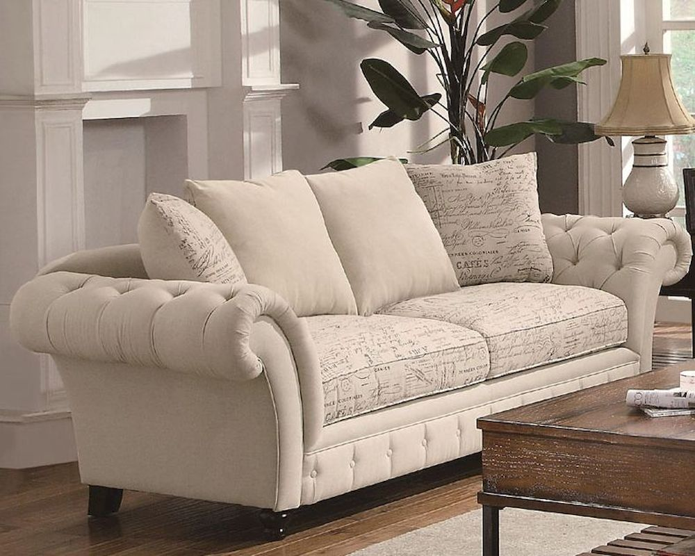 Coaster Traditional French Style Sofa Willow Co 503761