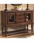 Coaster Traditional Server w/ Glass Cabinets CO-103515