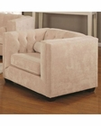 Coaster Transitional chesterfield Chair Alexis CO-5043-C