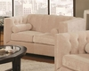 Coaster Transitional chesterfield Love Seat Alexis CO-5043-LS