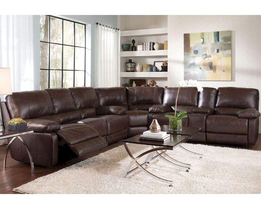 Coaster transitional six seat sectional sofa geri co 600021ss for 6 seat sectional sofa