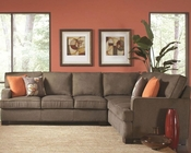 Coaster Transitional Track Arm Sectional Alvah CO-503435
