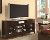 Coaster TV Console in Dark Walnut Finish CO-700693