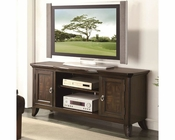 Coaster TV Console w/ Parquet Veneers CO-700901