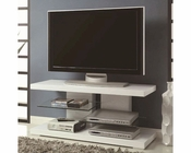 Coaster TV stand w/ Alternating Glass Shelves CO-700824
