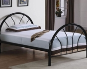 Coaster Twin Metal Bed Fordham in Black CO-2389B