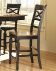 Coaster Two-Tone Bar Stool Ashley CO-104039 (Set of 2)