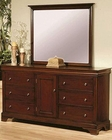 Coaster Versailles Dresser & Mirror CO-201483-4