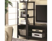 Coaster Wall Units Curved Front Media Tower CO-800355