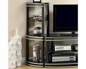 Coaster Wall Units of Corner Media Towers CO-700723