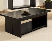 Cocktail Table in Black Finish Ebony by Somerton SO-624-04