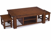 Cocktail Table with 2 Stools Parker Lane by Magnussen MG-T3050-43