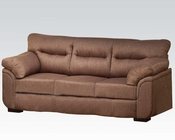 Cocoa Linen Sofa Avalon by Acme Furniture AC51690