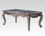 Coffee Table in Antique Platinum Chantelle by Acme Furniture AC80540
