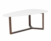 Coffee Table Morty by Euro Style EU-90199WHT