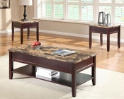 Coffee Table Set Orton by Homelegance EL-3447-30-SET