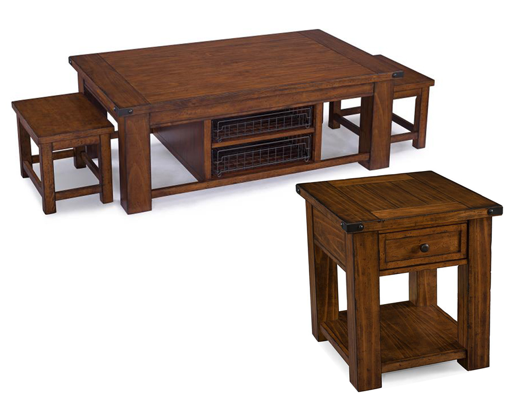 Coffee Table Set Parker Lane By Magnussen Mg T3050set