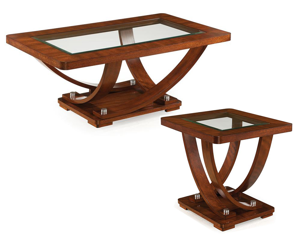 Coffee table set pavilion by magnussen mg t2908set Side table and coffee table set