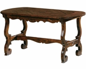 Coffee Table w/ Carved Stretcher Base Rue de Bac by Hekman HE-87201