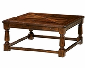 Coffee Table w/ Stretcher Base Rue de Bac by Hekman HE-87203