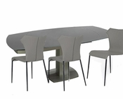 Compact Extendable Dining Set in Contemporary Style 44D2609XT-SET