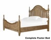 Complete Poster Bed Cloverton Cove by Magnussen MG-B2989-56