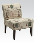 Contemporary Accent Chair in French Style by Acme Furniture AC96227