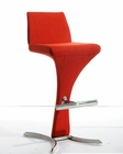 Contemporary Bar Stool In Curvy and Sleek Design 44BRA99-F