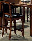 Contemporary Bar Stool in Walnut  - Coaster CO-101839 (Set of 2)