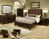 Contemporary Bedroom Set Solitude by Ayca AY-1702Set
