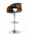 Contemporary Black Bar Stool 44BR4036