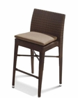 Contemporary Brown Patio Bar Chair 44PH25-CH