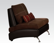Contemporary Chair Jolie Chocolate by Acme Furniture AC51762