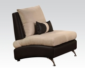 Contemporary Chair Jolie Sand by Acme Furniture AC51757