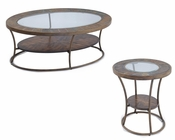 Contemporary Coffee Table Set Desoto by Magnussen MG-T3048SET