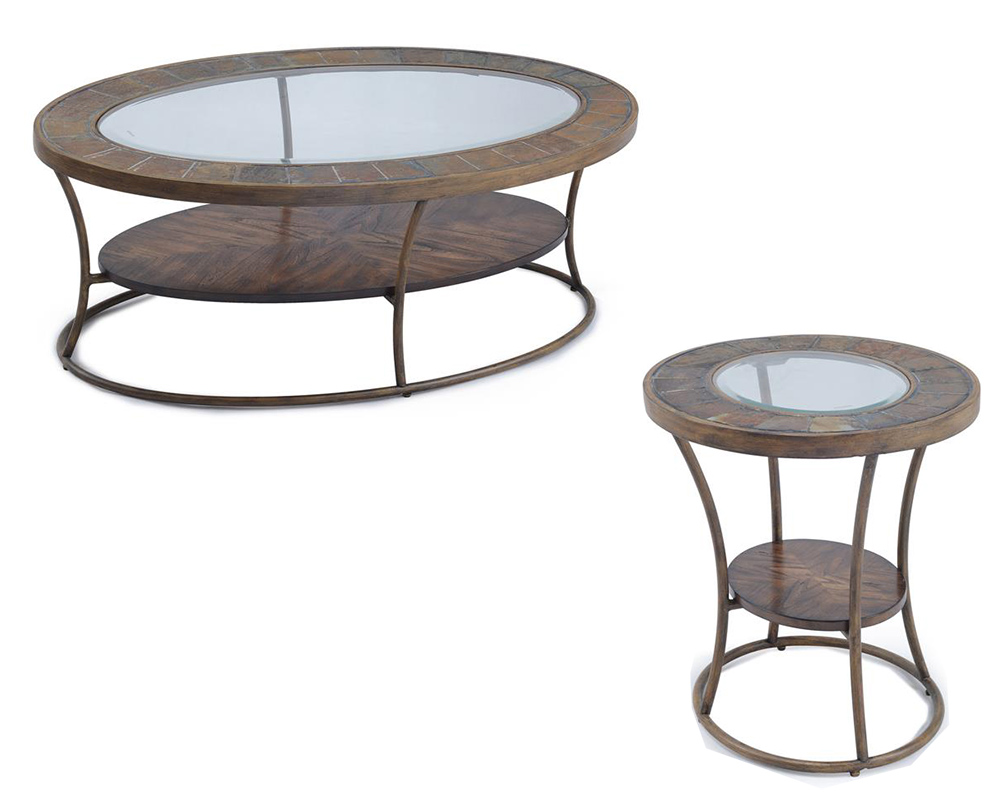 Contemporary Coffee Table Set Desoto By Magnussen Mg T3048set